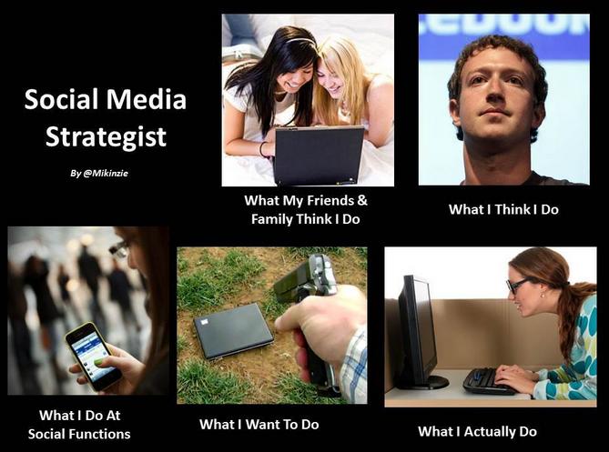 Social Media Expert Meme Social Media Strategist Social Media Social Media Humor