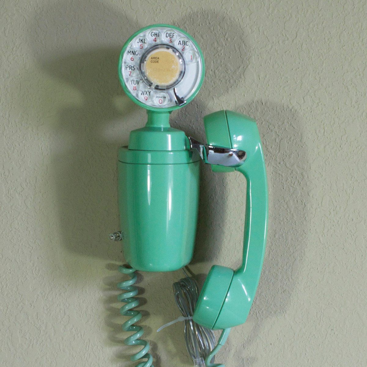 Jetson Phone Mint Green vintage Bell