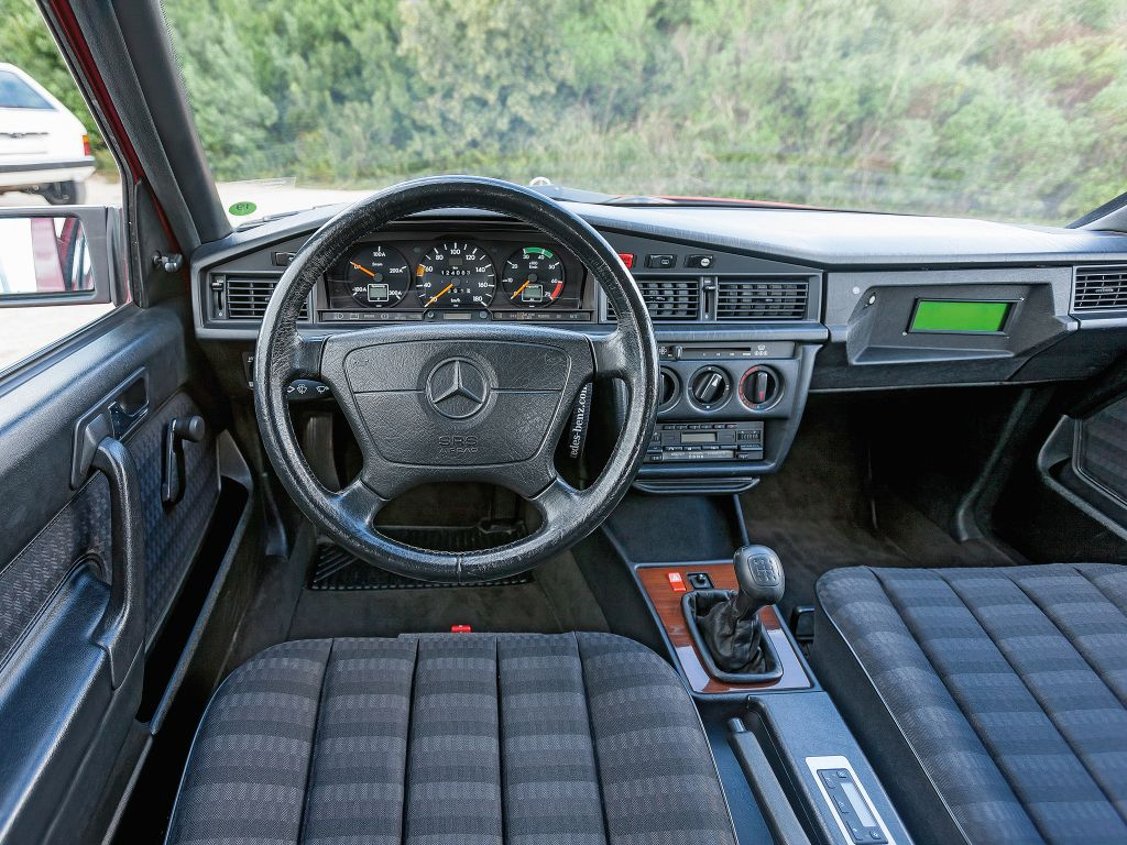 Mercedes benz 190 elektro w201 1990