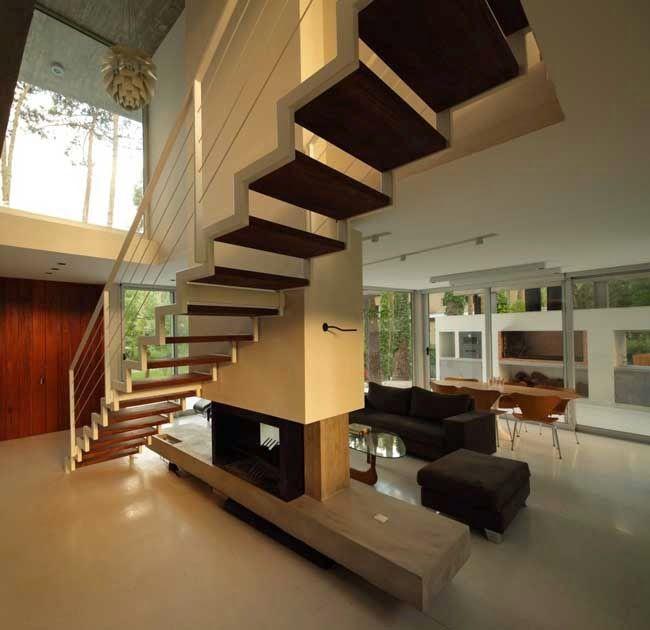 Stair Designs Railings Jam Stairs Amp Railing Designs: Casas Minimalistas Y Modernas: Escaleras