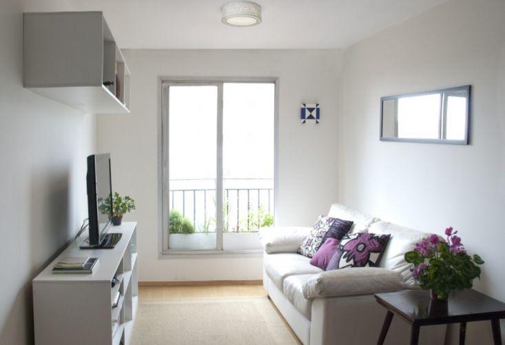 Decora o de casas pequenas home pinterest salas for Salas departamentos pequenos
