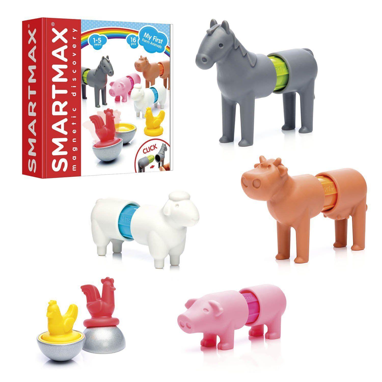 Amazon Com Smartmax My First Farm Animals A Fun Stem Focused