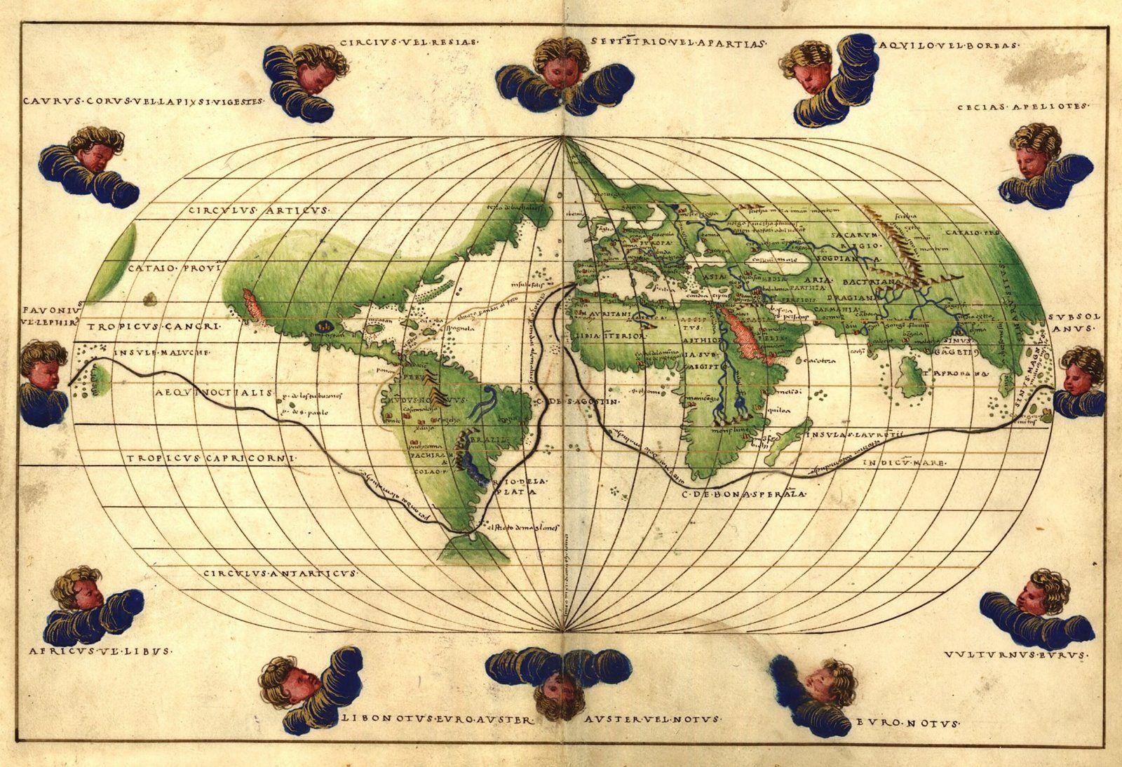 1544_Battista_Agnese_Worldmap