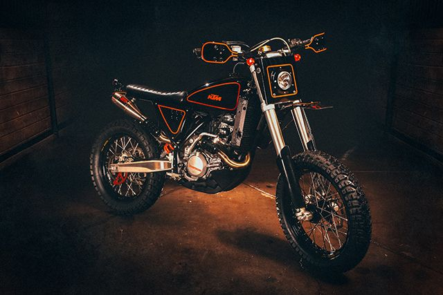 2012 Ktm 500 Exc By Cab Moto With Images Ktm Tracker