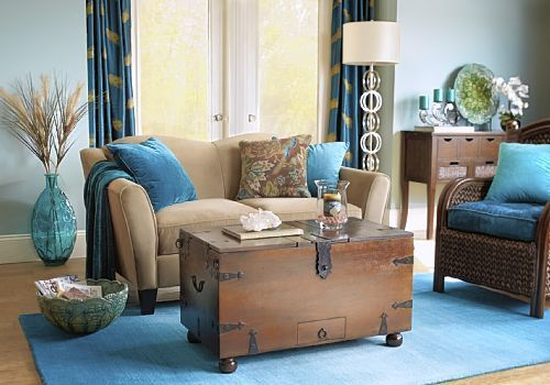 Peir One Living Rooms | Pier 1 Imports Pier One Uses Accessories To Liven  Up A