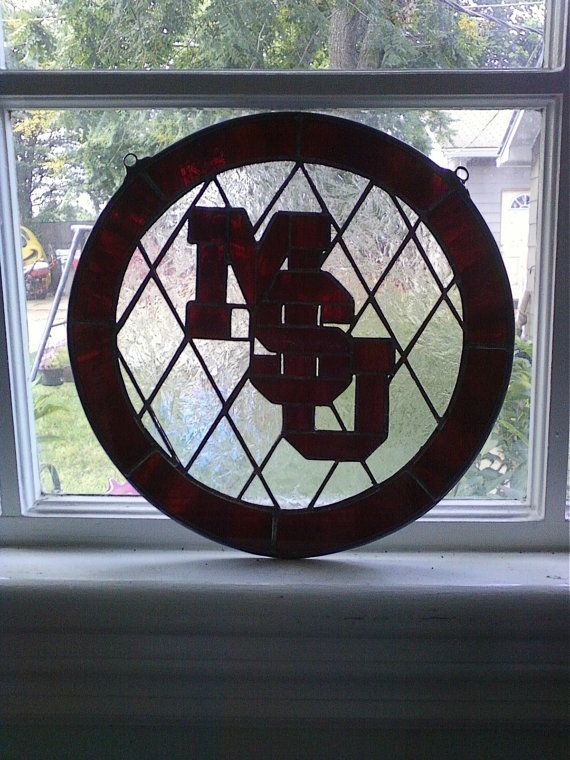Mississippi State SuncatcherAvaliable for custom by cloverglassart