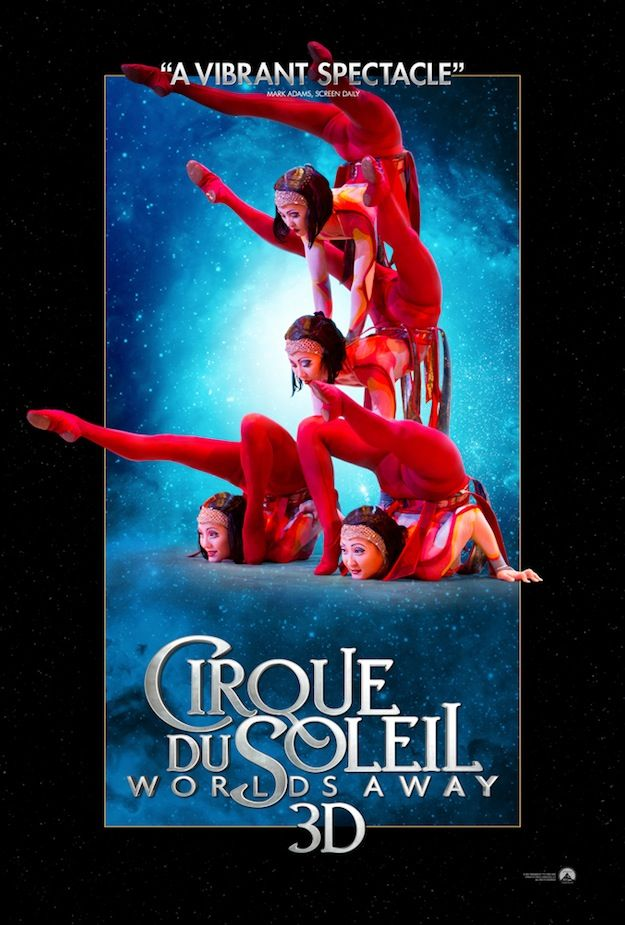 4 new posters for cirque du soleil