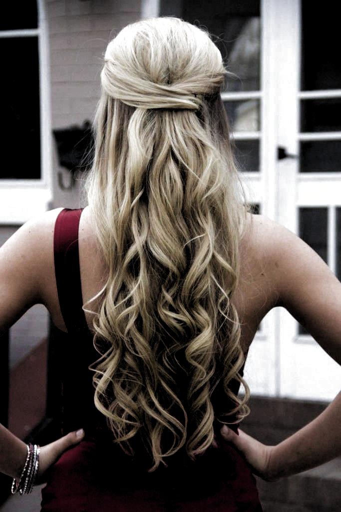 Half Up Half Down Curly Prom Hairstyles For Long Hair Curly Hairstyles For Pro Curly In 2020 Long Hair Styles Prom Hairstyles For Long Hair Curly Curly Hair Styles
