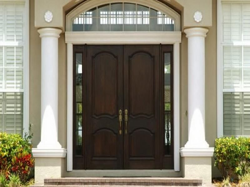 Beautiful Front Doors dark wood beautiful front door. this is a little too dark but
