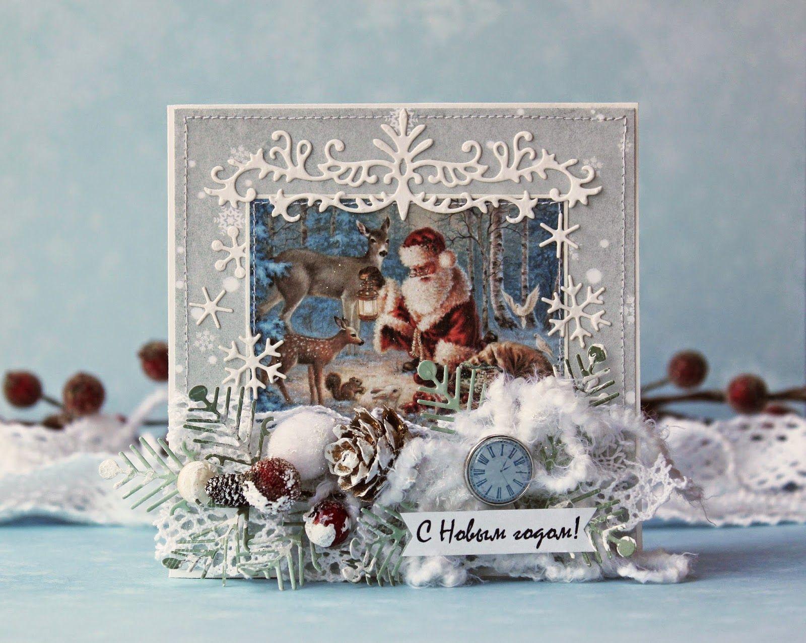 Скетчи новогодних открыток скрапбукинг
