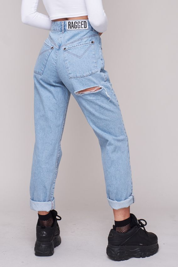 e1e29e10f5 Give your booty the spotlight it deserves. Classic high waisted mom jean  with a perfectly placed butt cut. – Autumn 17 Collection – Mom Jean fit –  100% ...