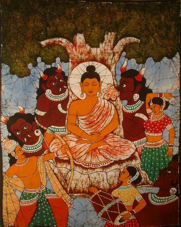 Mara es el nombre del demonio que tentó a Buda con la visión de ...