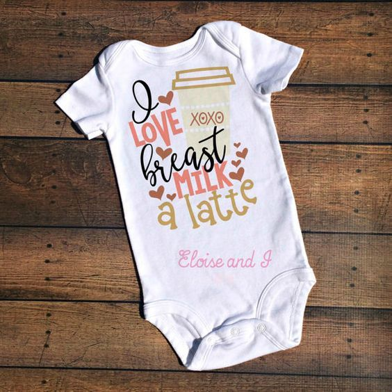 7a6148451 A onesie that helps baby normalize breastfeeding! Breastfeeding Bottles,  Breastfeeding Shirt, Cute Baby