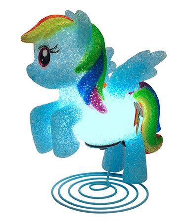 Another Great Find On #zulily! My Little Pony Rainbow Dash EVA Lamp  #zulilyfinds