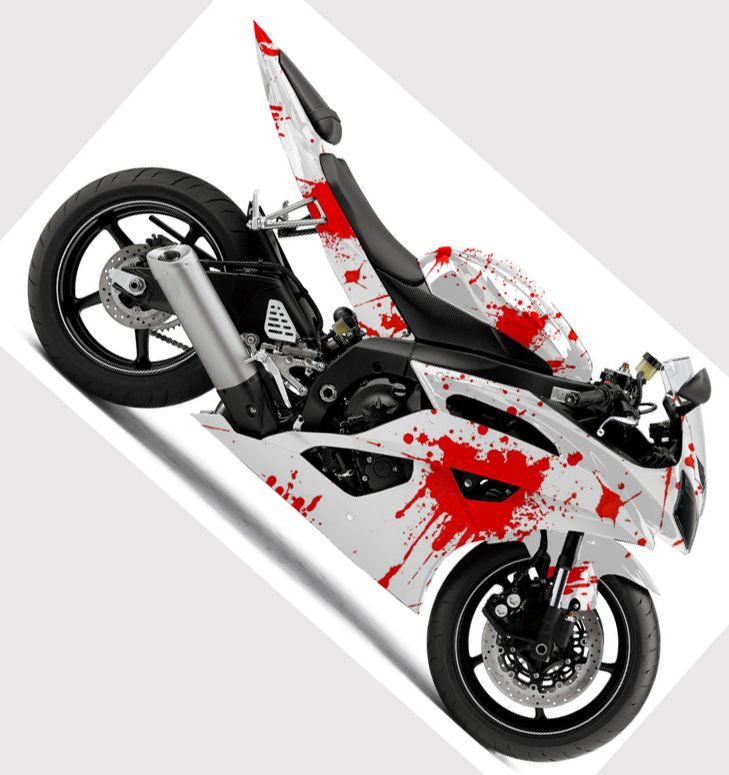 Motorcycle Vinyl Wrap Motorcycletattoo Motorcycle