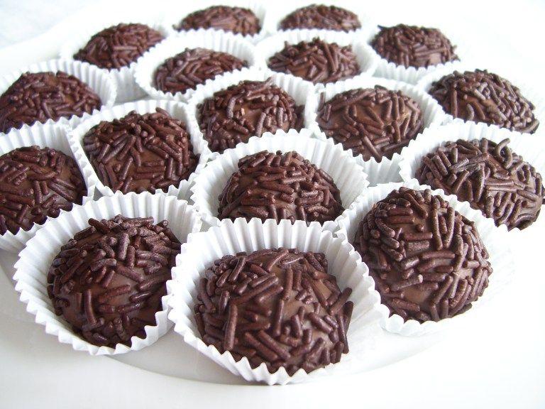 Brazilian Chocolate Truffle Brigadeiro Recipe Fun Desserts Brigadeiro Recipe Food