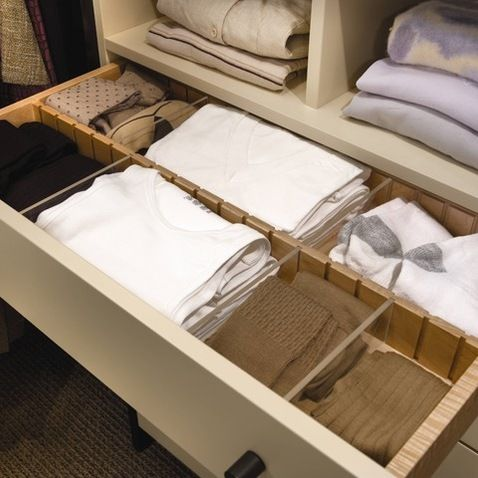 Drawers With Dividers Design Ideas, Pictures, Remodel, and Decor wood-Mode