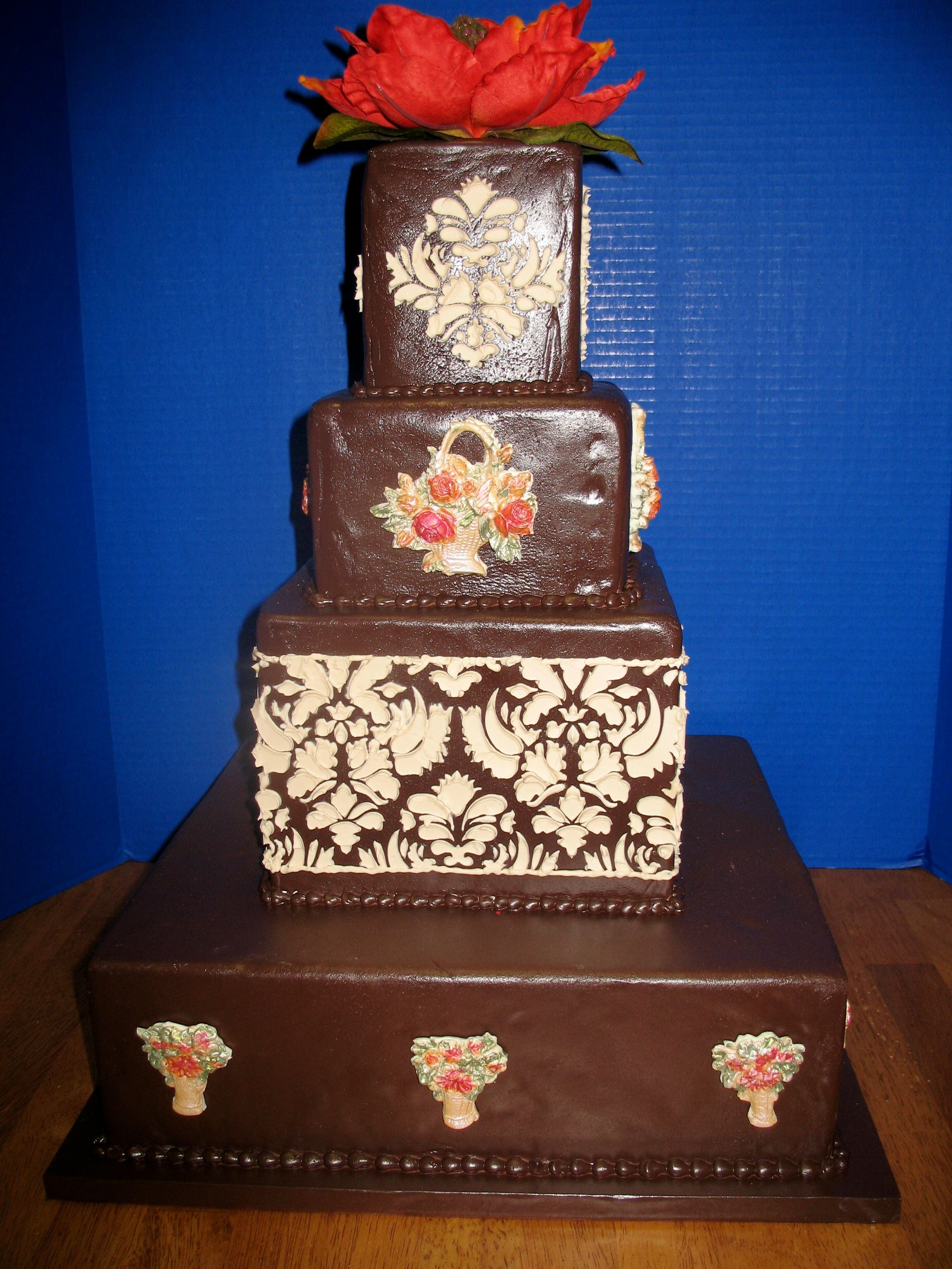 chocolate fall themed wedding cake wwwcheesecakeetcbiz wedding cakes charlotte nc