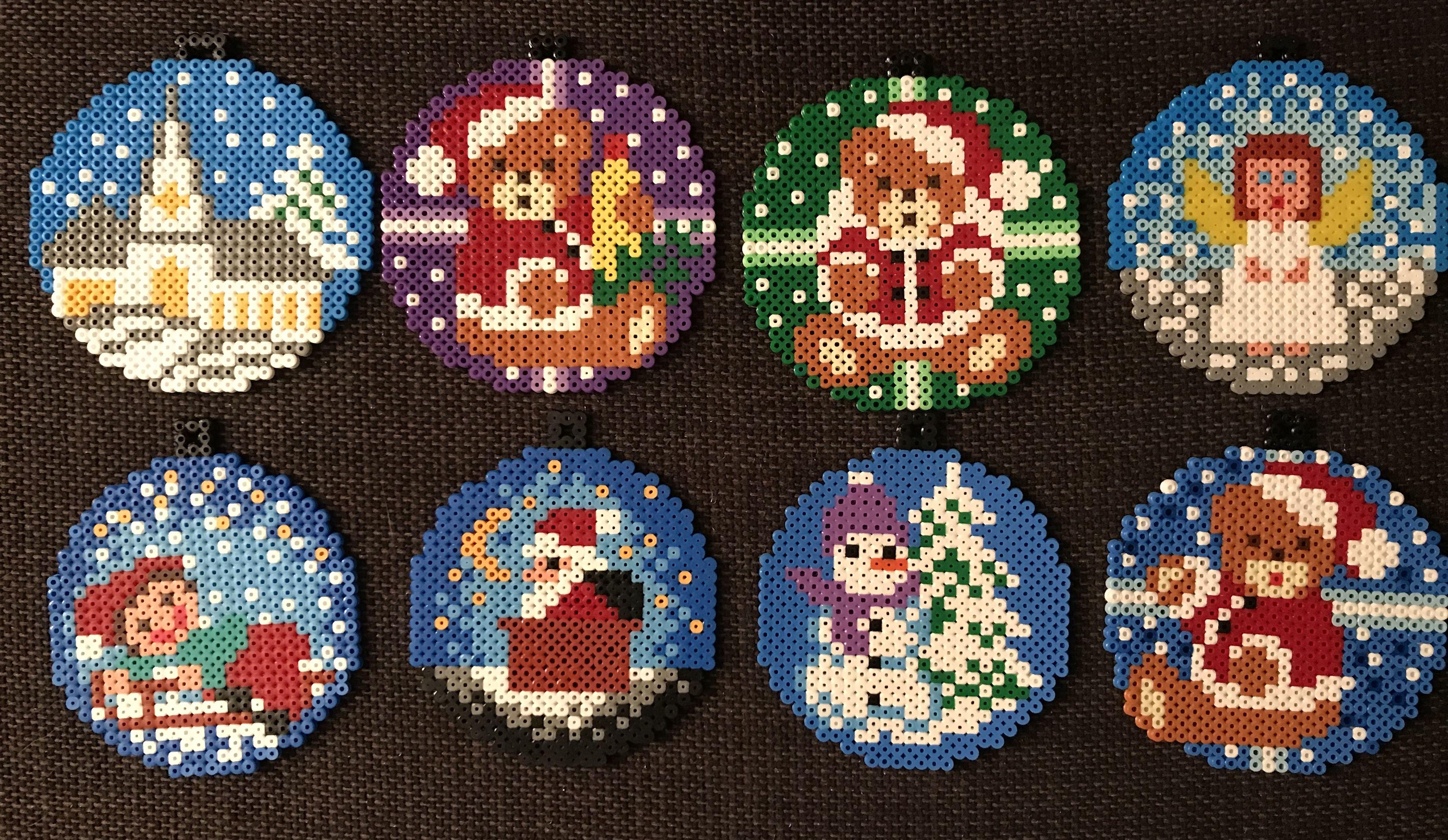Bugelperlen Vorlagen Zu Weihnachten Kostenlos 12 Bastelideen 12