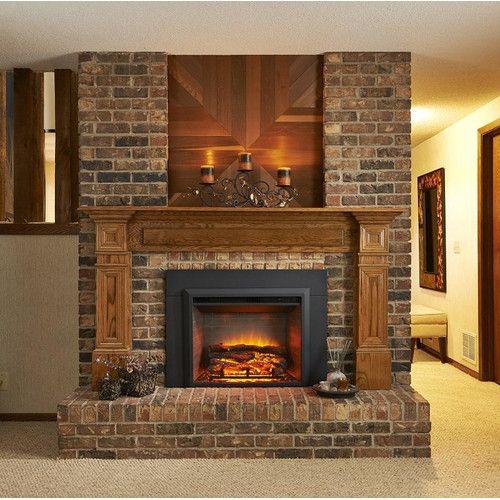 Electric Fireplace Insert Electric Fireplace Insert Farmhouse