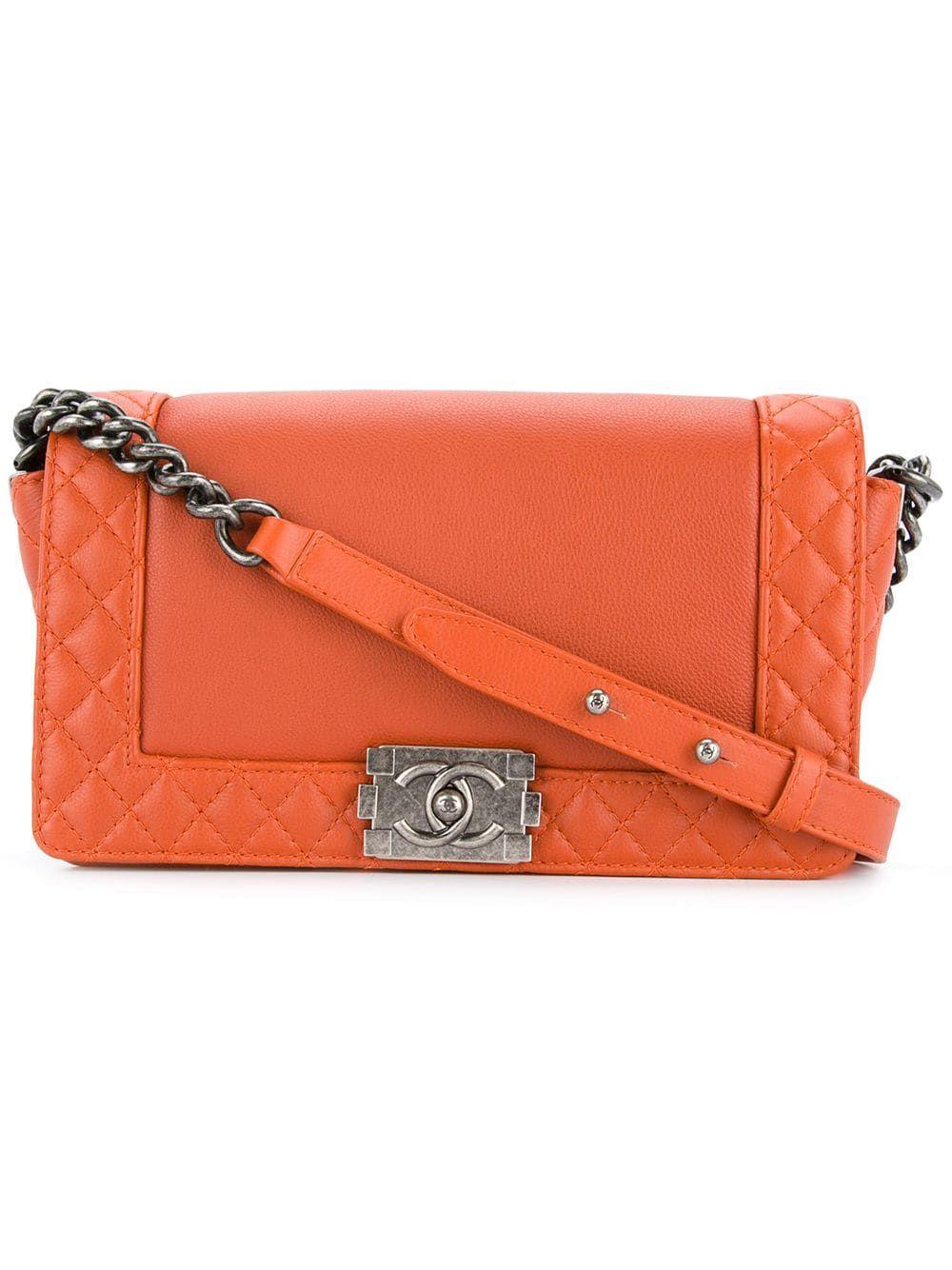 Chanel Pre-Owned Boy Shoulder Bag – Farfetch