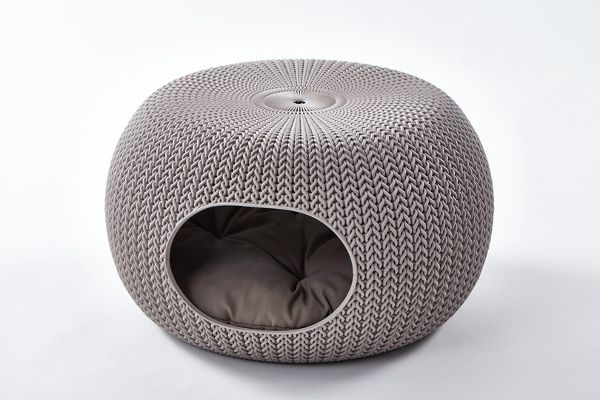 Knit By Curver Pet Beds And Furniture Dog Furniture Modern Cat Bed Pet Beds