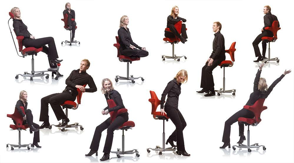 Capisco Ergonomic Chair Active Sitting Chair