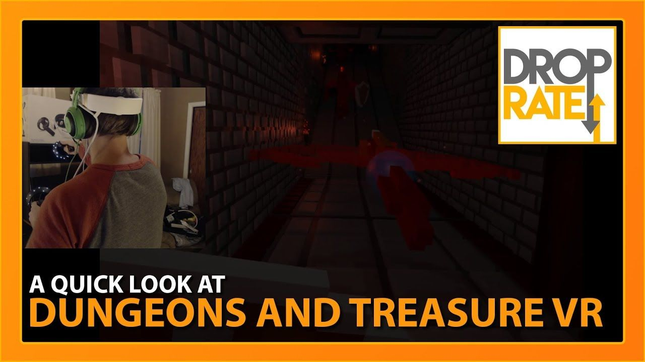 Quick Look: Dungeons and Treasure VR (Oculus, Vive, Mixed ...