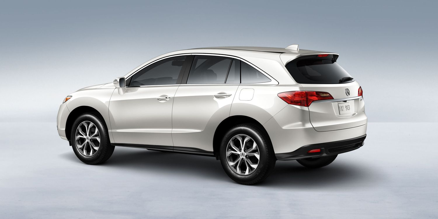 The 2015 acura rdx awd in white diamond pearl with accessory rules takes you where you