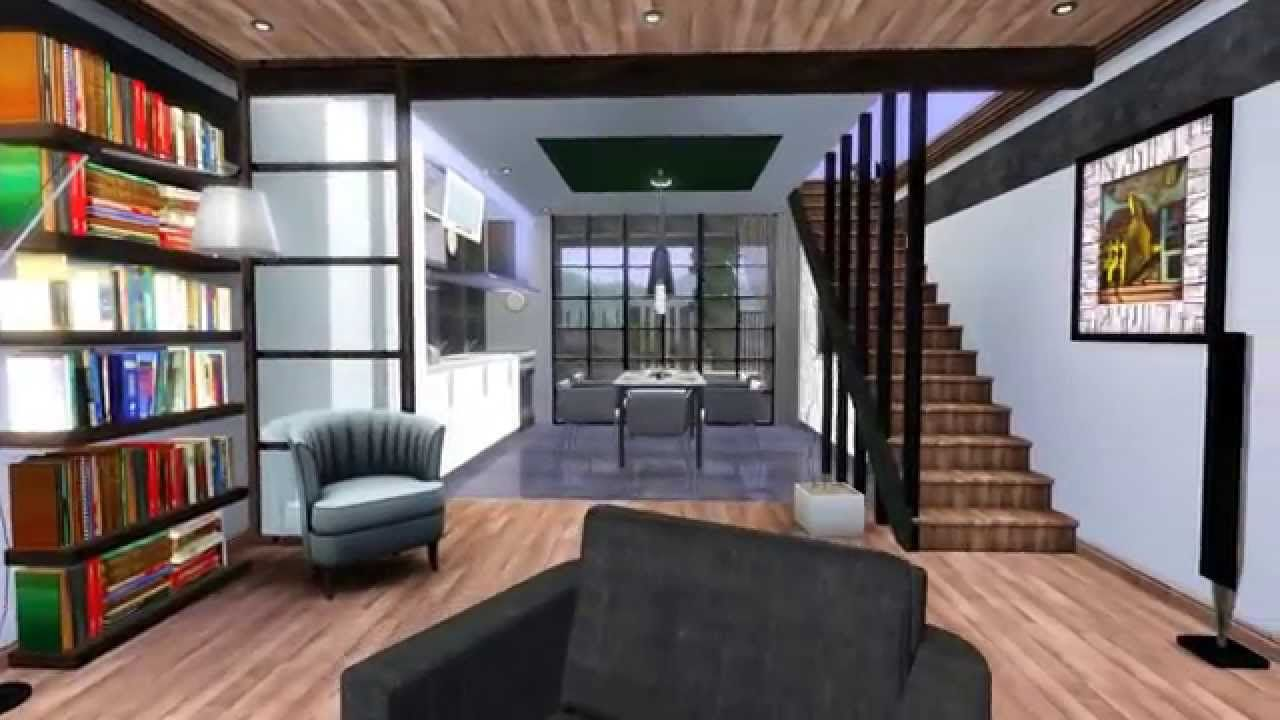 The Sims 3 Modern House Design For Couples 1 Hd Download Bungalow House Design Modern House Floor Plans Kerala House Design