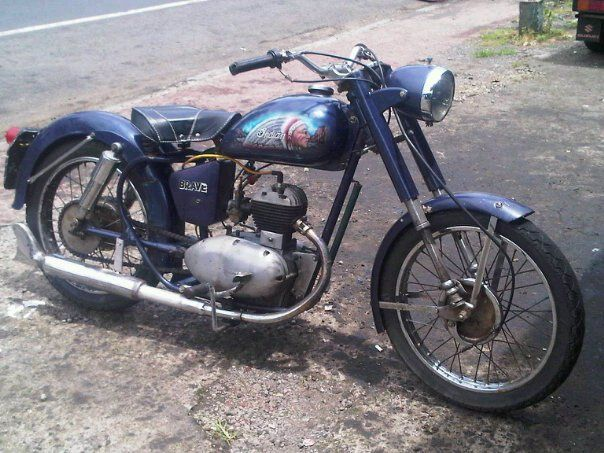 Indian Brave 1953 250cc Classic Motorcycles Indian Motorcycle 250cc