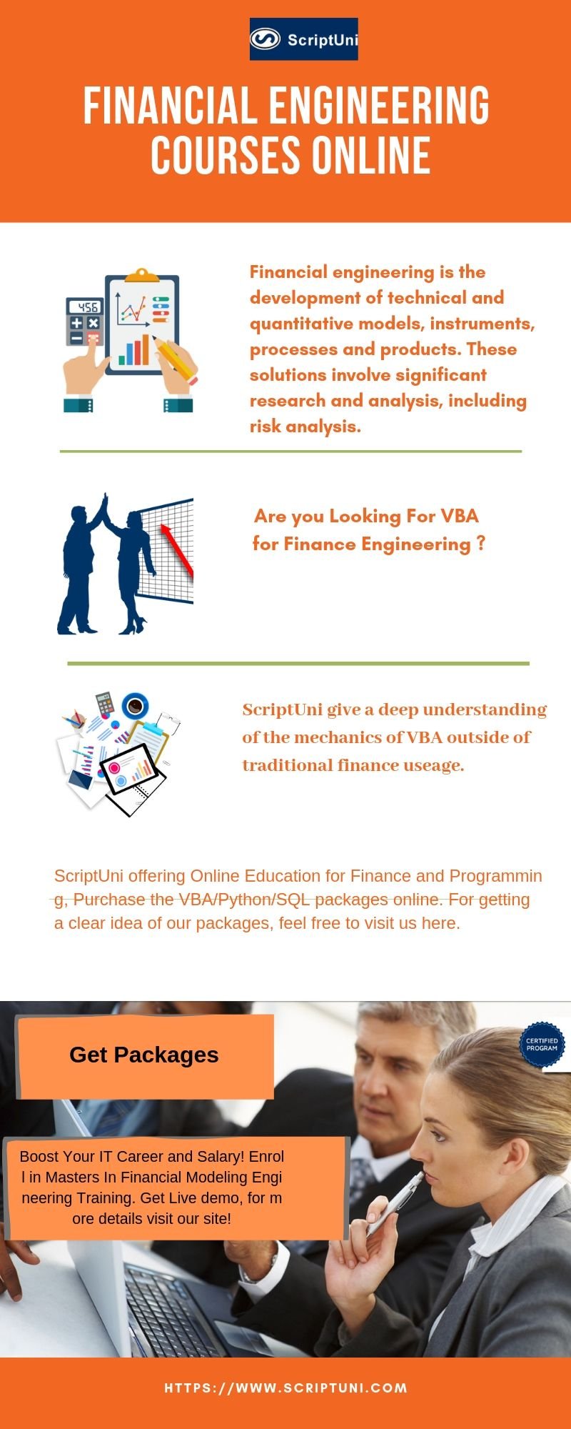 ScriptUni offering Online #Education for #Finance and #Programming