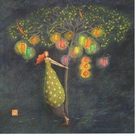 Gaelle Boissonnard: L'arbre aux lampions