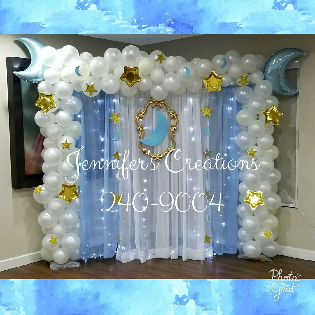 Baby Boy Baby Shower Balloon Arch Baby Shower Balloons Bridal