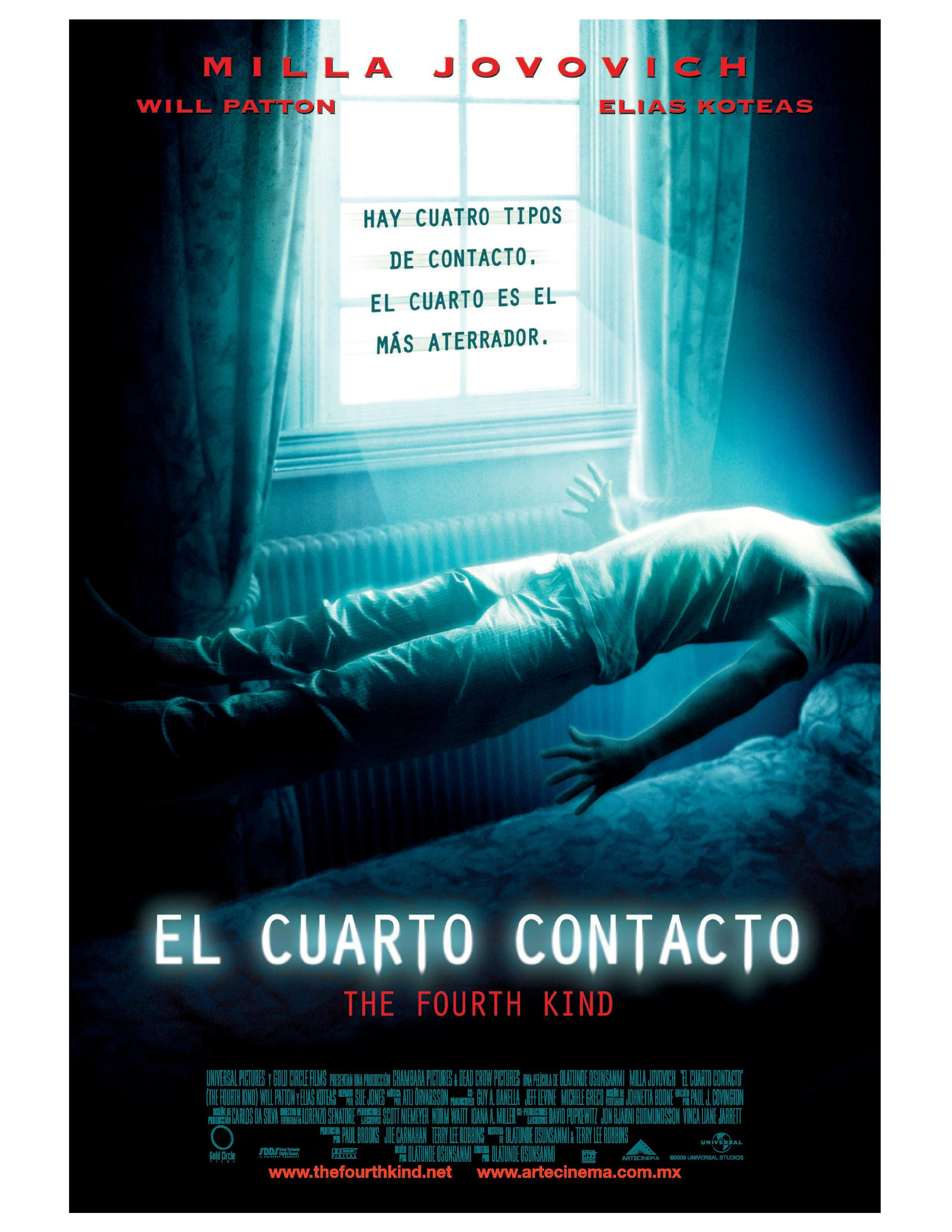 El Cuarto Contacto - The Fourth Kind | Best Movie Ever | Horror ...