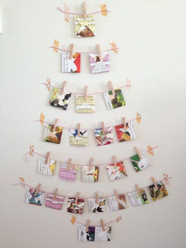 10 ideas de rbol de Navidad para espacios pequeos rbol navidad