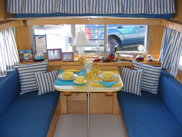 Idee Per Interni Roulotte : Oh yeah! perfect idea for our little kit! home on wheels pinterest