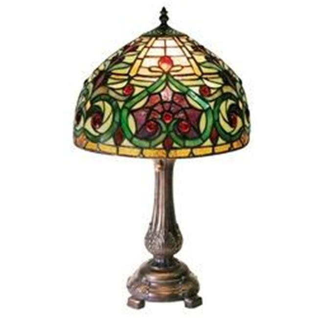 Warehouse Of Tiffany 1669 MB163 Jeweled PetiteTable Lamp   Tiffany style table lamps, Tiffany ...