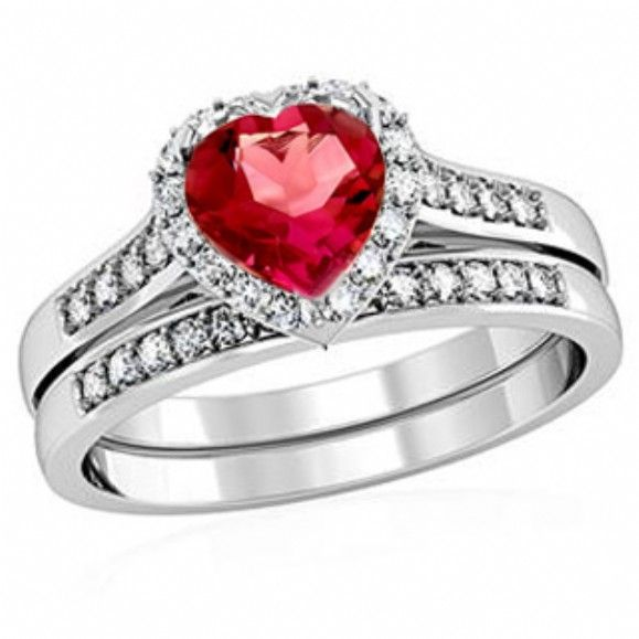 red wedding rings - Red Wedding Rings