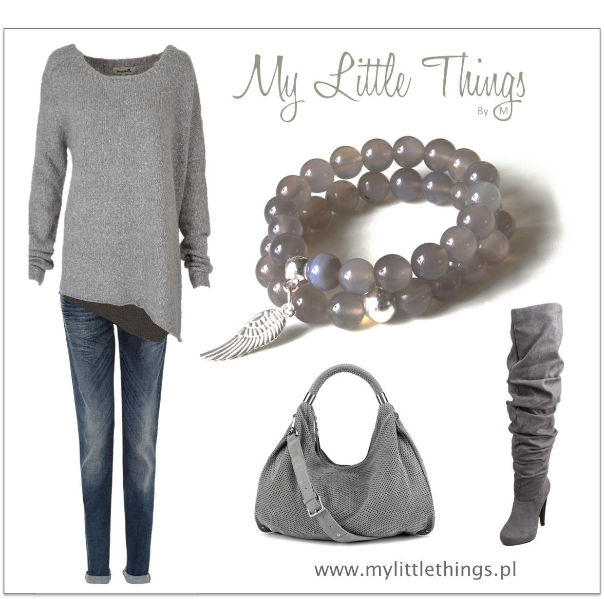 Grey is one of our favourite everyday color.