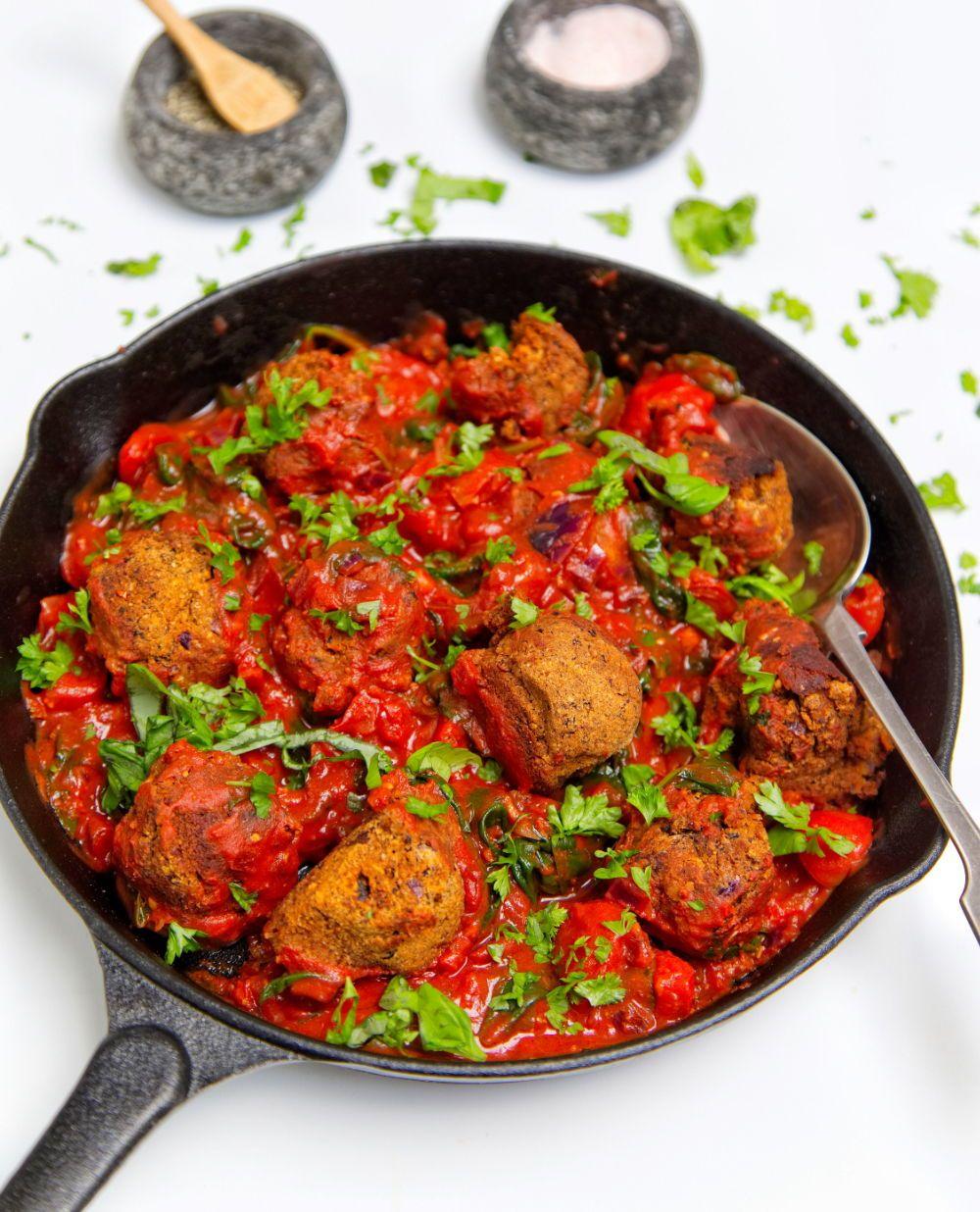 Nomeat balls gluten free vegan meat free balls