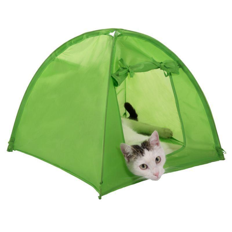 Cat Kitten Camp Tent Den Home House Pet Camping Outdoor