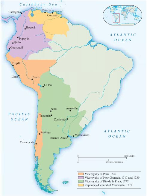 Chapter 19 mapas historia y historia argentina argentina latin america around 1800 map gumiabroncs Image collections