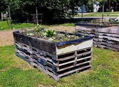 Build a raised bed g #erhöhtepflanzbeete