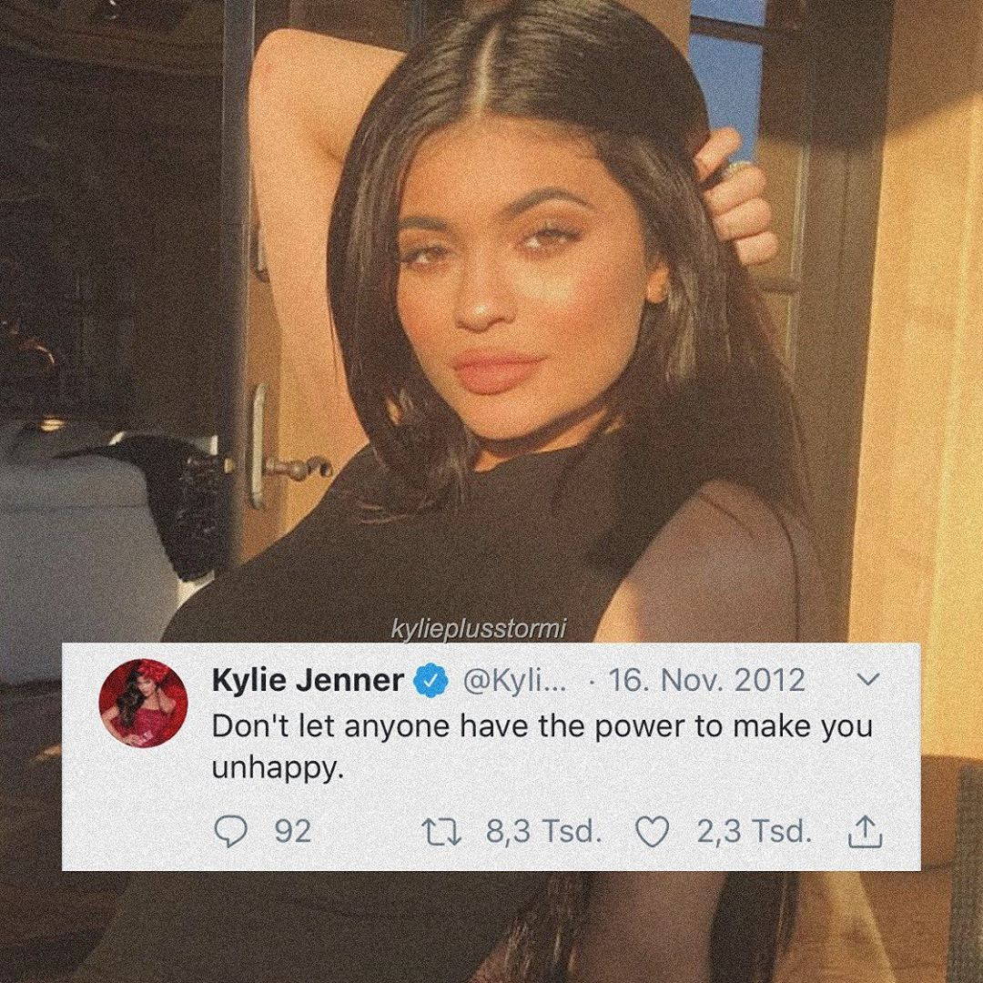 Kylie Jenner Stormi Webster On Instagram Real Post From 2012 I Miss Her Tweets Please Gi Kylie Jenner Quotes Kardashian Quotes Kylie Jenner Tweets