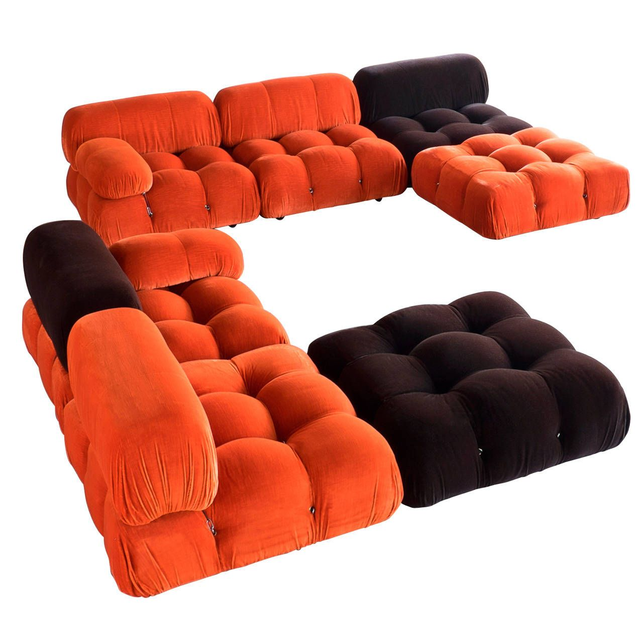modular sofas by mario bellini