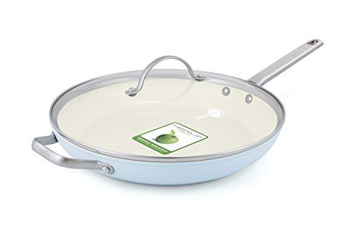 Greenpan Padova 12 Ceramic Nonstick Covered Frypan With