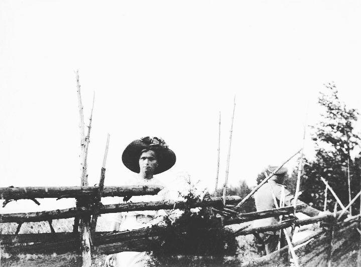 Grand Duchess Olga Nikolaevna of Russia in Finland c. 1912. by historyofromanovs