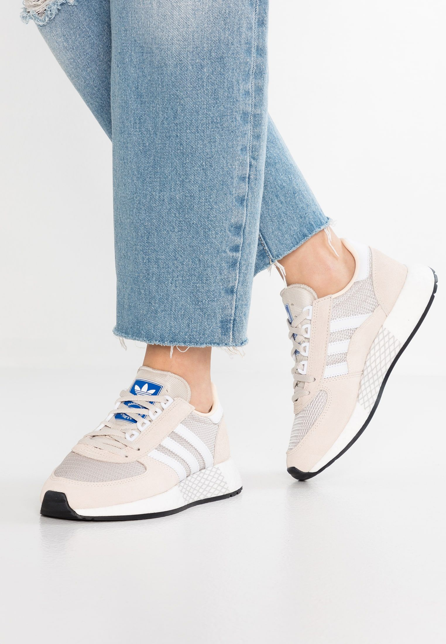 adidas Originals MARATHON TECH - Zapatillas - ecru tint ...
