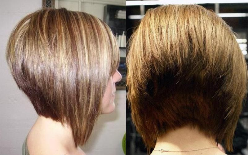 Short Stacked Bob Hairstyles Back View 2014 Short Hairstyles For Women With Black And Curl Short Stacked Bob Hairstyles Bob Hairstyles Stacked Bob Hairstyles